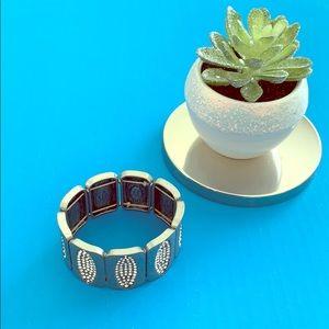 NWOT Lia Sophia Kiam Family Bracelet Graphite